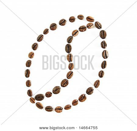 Coffee Beans Draw A Coffee Bean Symbol