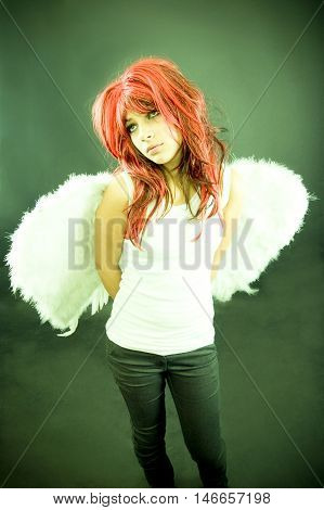 Girl With Wings.