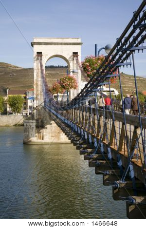 Bridge On The River Rhone