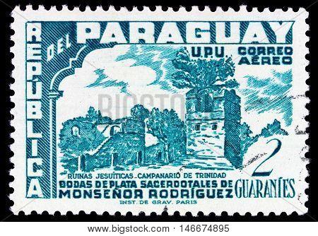 Paraguay - Circa 1955