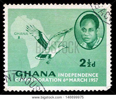 Ghana - Circa 1957