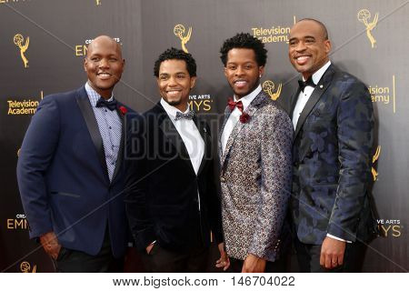 LOS ANGELES - SEP 10:  Sons of Serendip at the 2016 Creative Arts Emmy Awards - Day 1 - Arrivals at the Microsoft Theater on September 10, 2016 in Los Angeles, CA