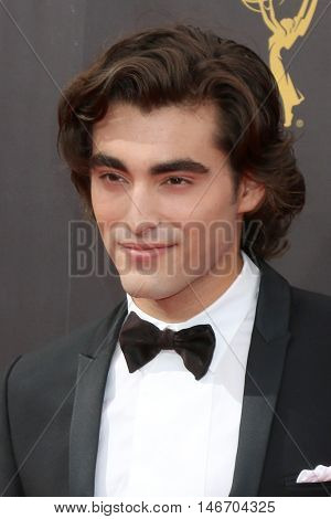LOS ANGELES - SEP 10:  Blake Michael at the 2016 Creative Arts Emmy Awards - Day 1 - Arrivals at the Microsoft Theater on September 10, 2016 in Los Angeles, CA