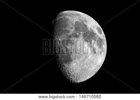 The moon is the natural satellite of our earth.