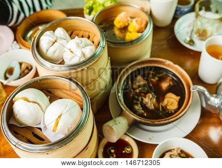 Dimsum in China as a snack or appetizer