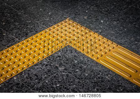 Braille block Tactile paving for blind handicap