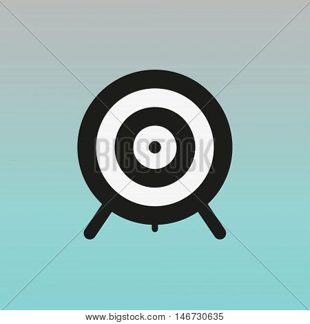 Aim vector sign. Aim vector illustration logo.