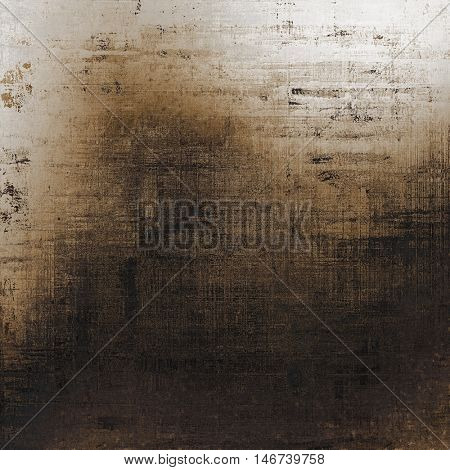 Aged grunge graphic background with shabby texture in vintage style and different color patterns: yellow (beige); brown; gray; black; white