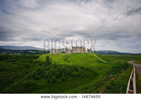 Ruthven Barrack In Scotland