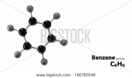 Molecular Structure Benzene C6H6