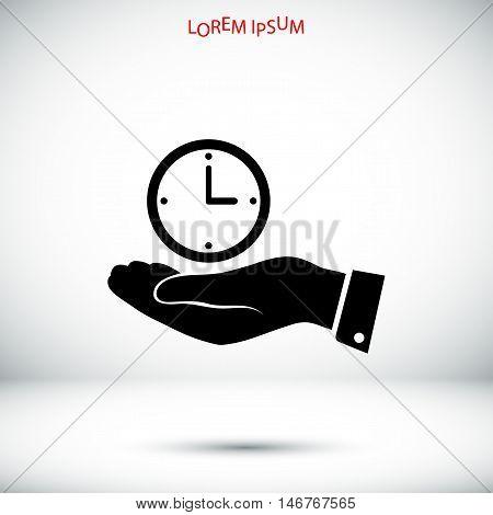 Clock Vector Icon