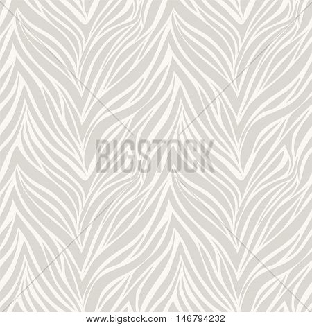 Seamless texture of zebra skin vector pattern