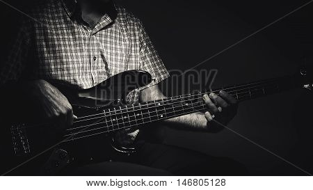 Expressions Of A Bass Player