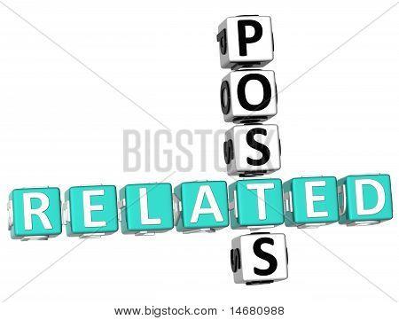 Related Posts Crossword