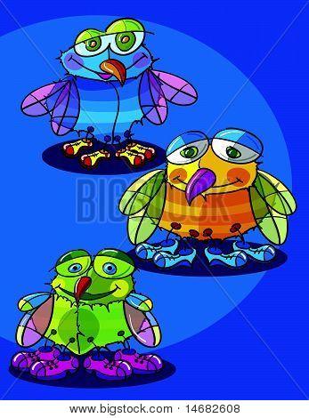 Flies Cartoon