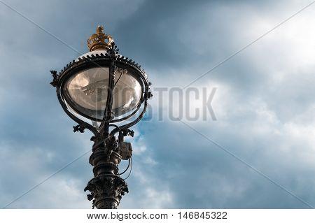 Beautiful Lamppost In London City, United Kingdom