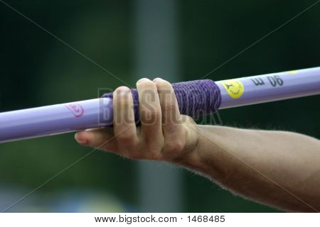 Holding The Javelin