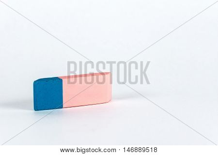 Eraser. Important School Supplies To Correct Errors