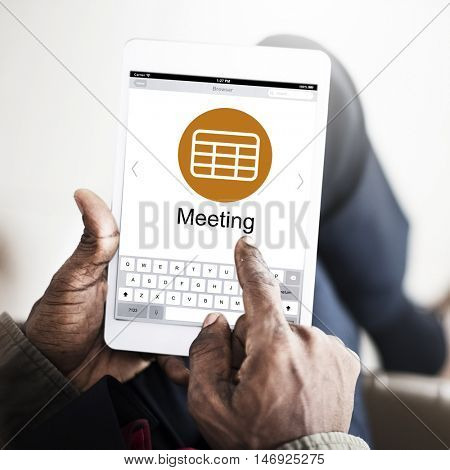 Schedule Task Agenda Appointment Planning Strategy Concept