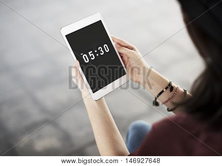 Time Digitals Electronic Timer Concept