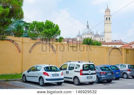 PADOVA, ITALY - JULY, 9, 2016: St. Anthony Cathedral in Padova, Italy