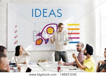 Ideas Communication Meeting Innovate Concept