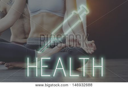 Meditation Healthcare Treatment Cure Concept