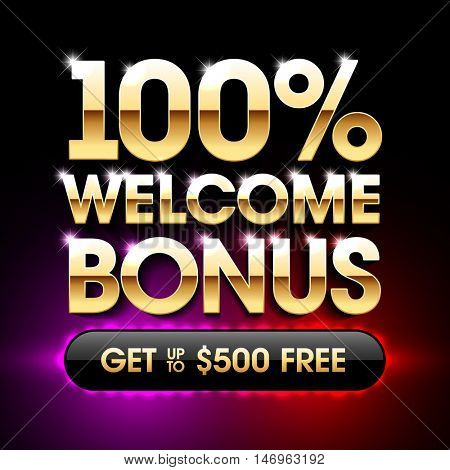 Welcome Bonus banner