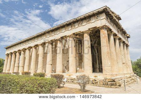 Temple of Hephaestus, Ancient Agora of Athens, Greece