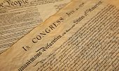United States Declaration of Independence poster