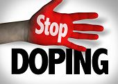 Stop Doping poster