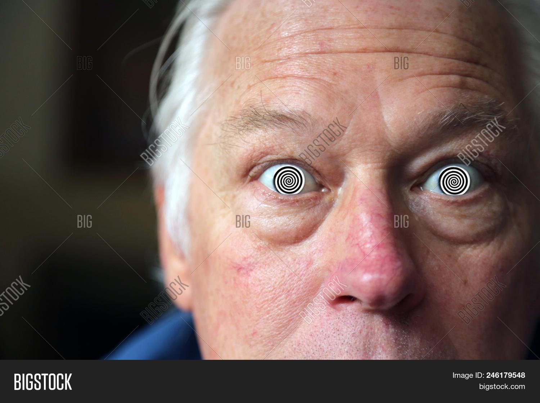 man hypnotic eyes man image photo free trial bigstock
