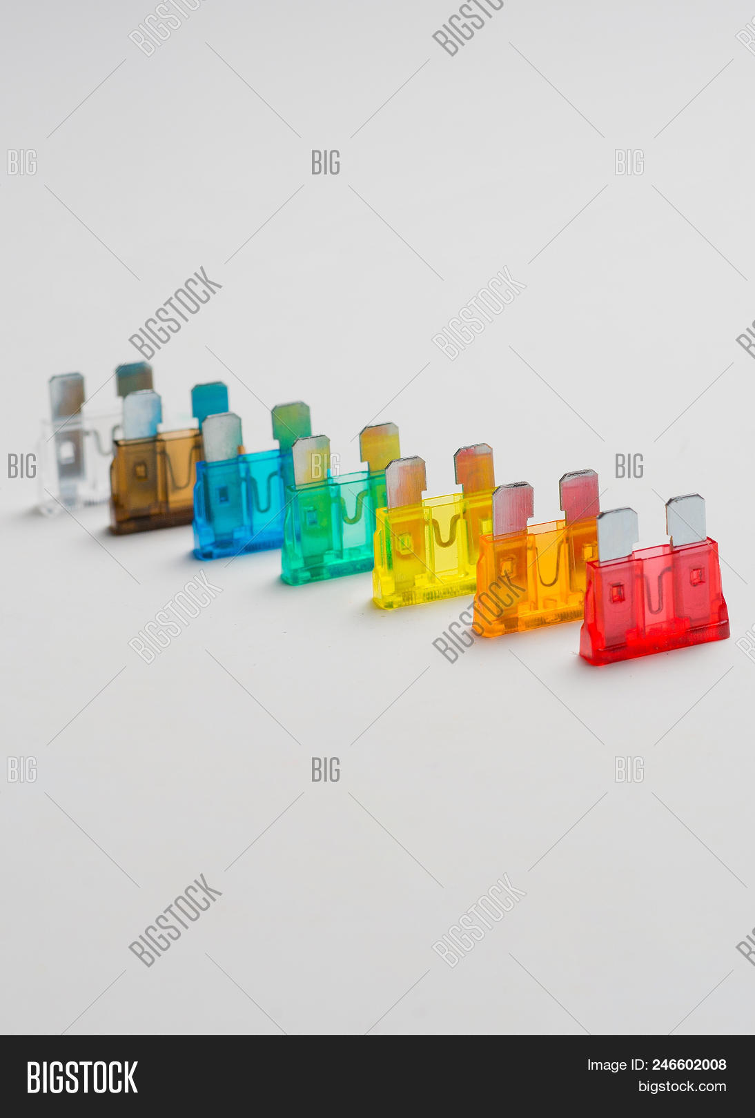 Car Fuse Colorful Image Photo Free Trial Bigstock Glass Box And Electrical Fuses Automotive Or Circuit Breakers Isolated On White Background