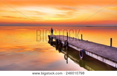 loneliness on the lake