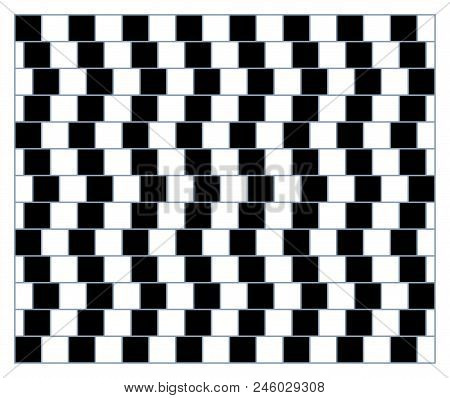 Visual Deception - Modern Optical Illusion. Funny And Impossible Shapes Riddle.