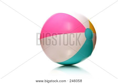 Kids Rubber Beach Ball