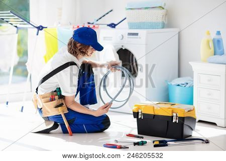 Washing Machine Repair Technician. Washer Service