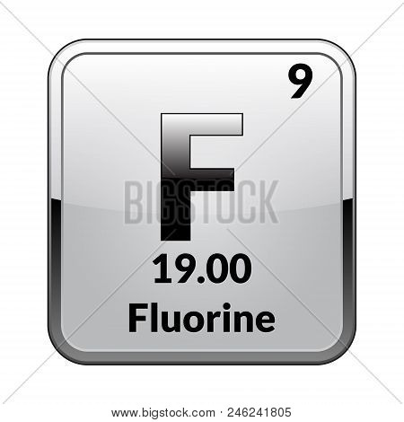 Fluorine Symbol Vector Photo Free Trial Bigstock
