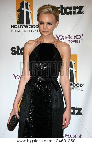 LOS ANGELES - OCT 24:  Carey Mulligan arriving at the 15th Annual Hollywood Film Awards Gala at Beverly Hilton Hotel on October 24, 2011 in Beverly Hllls, CA