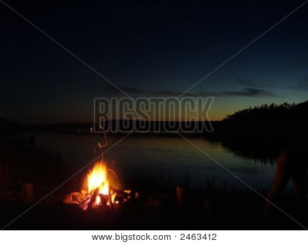 Fire At Dusk