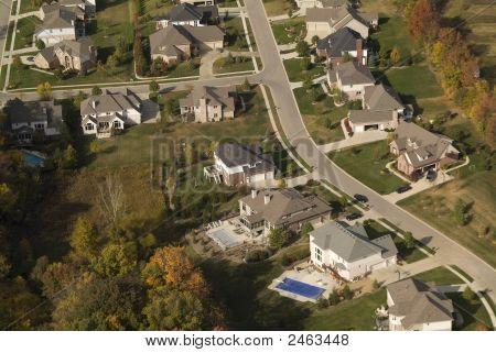 Aerial Neighborhood