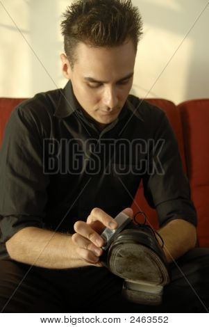 Cleaning Formal  Shoes