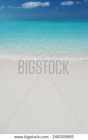 Beach of Exuma, Bahamas