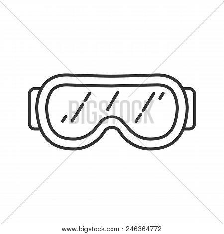 Ski Goggles Linear Vector Photo Free Trial Bigstock