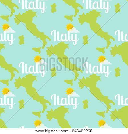 italy travel map vector photo free trial bigstock