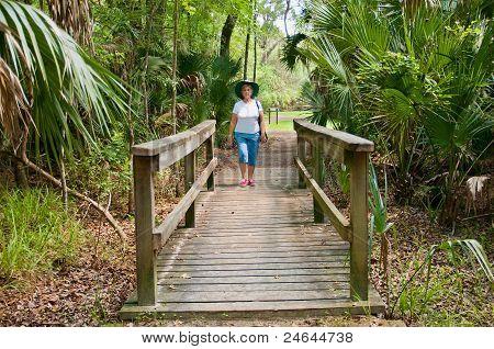 Woman Hiker