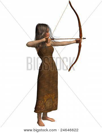 Wood Elf Archer Girl