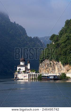 Mraconia Monastery And Kazan (iron Gates) Gorge, Romania