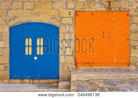 Fisherman's Huts, Gozo, Malta.