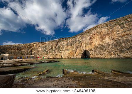Inland Sea, Island Of Gozo, Malta.
